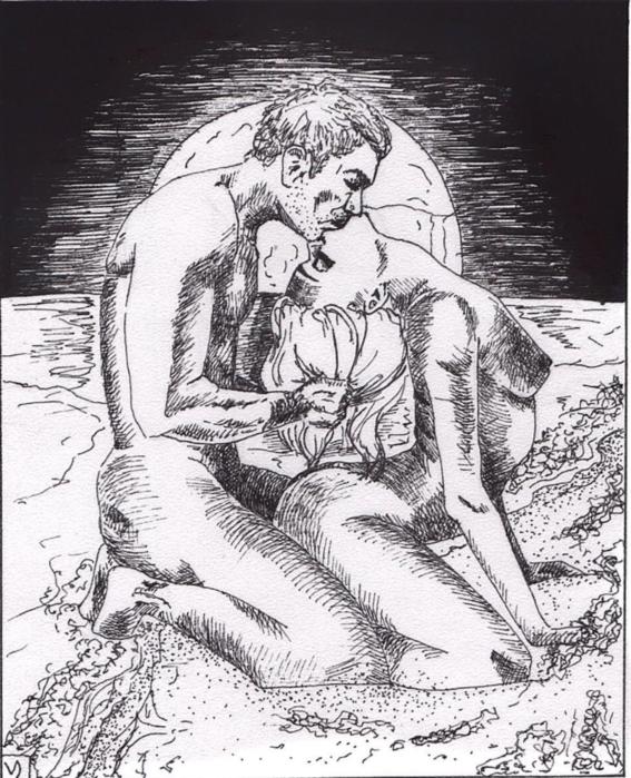 ilustraciones violencia y satisfaccion sexual kamasutra