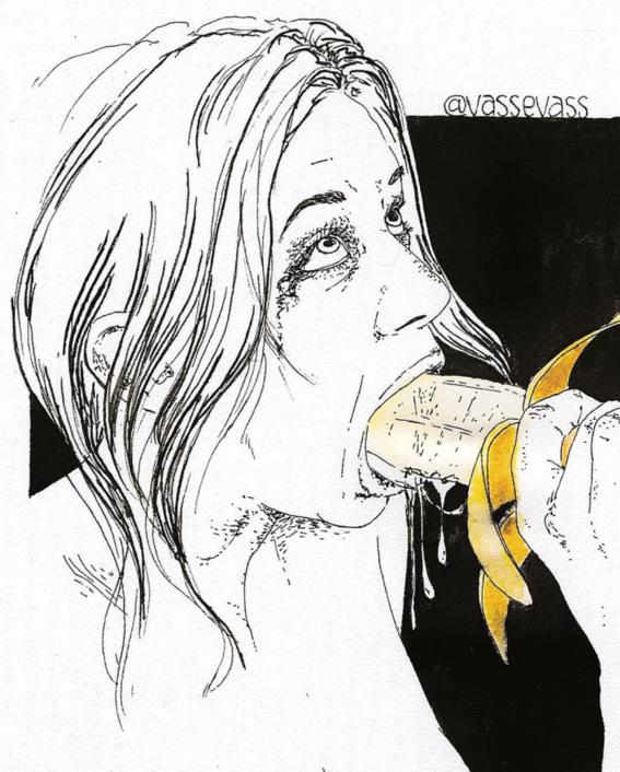 ilustraciones violencia y satisfaccion sexual oral