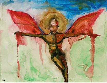 marilyn manson paintings