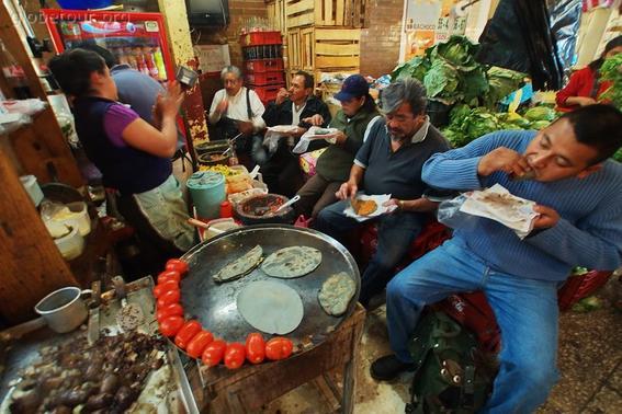 comida en La Merced
