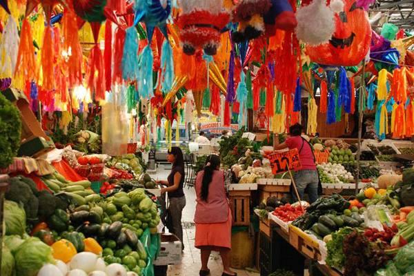 mercados para comer drinks