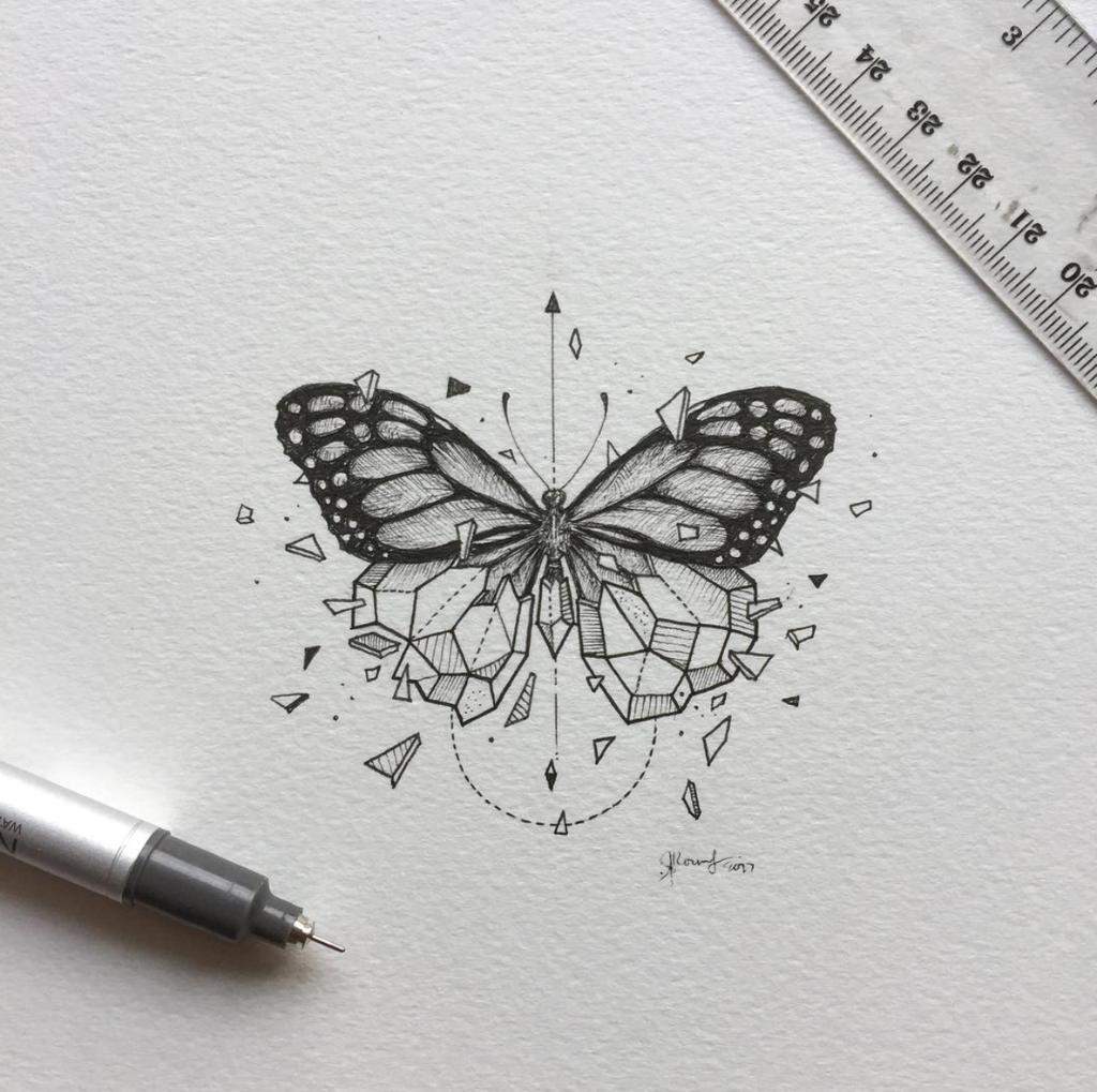 Sketch Tattoo Ideas Pinterest: 20 Diseños De Animales Que Inspirarán Tu Primer Tatuaje