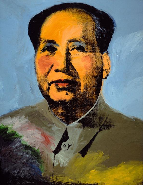 obras de arte pop mao