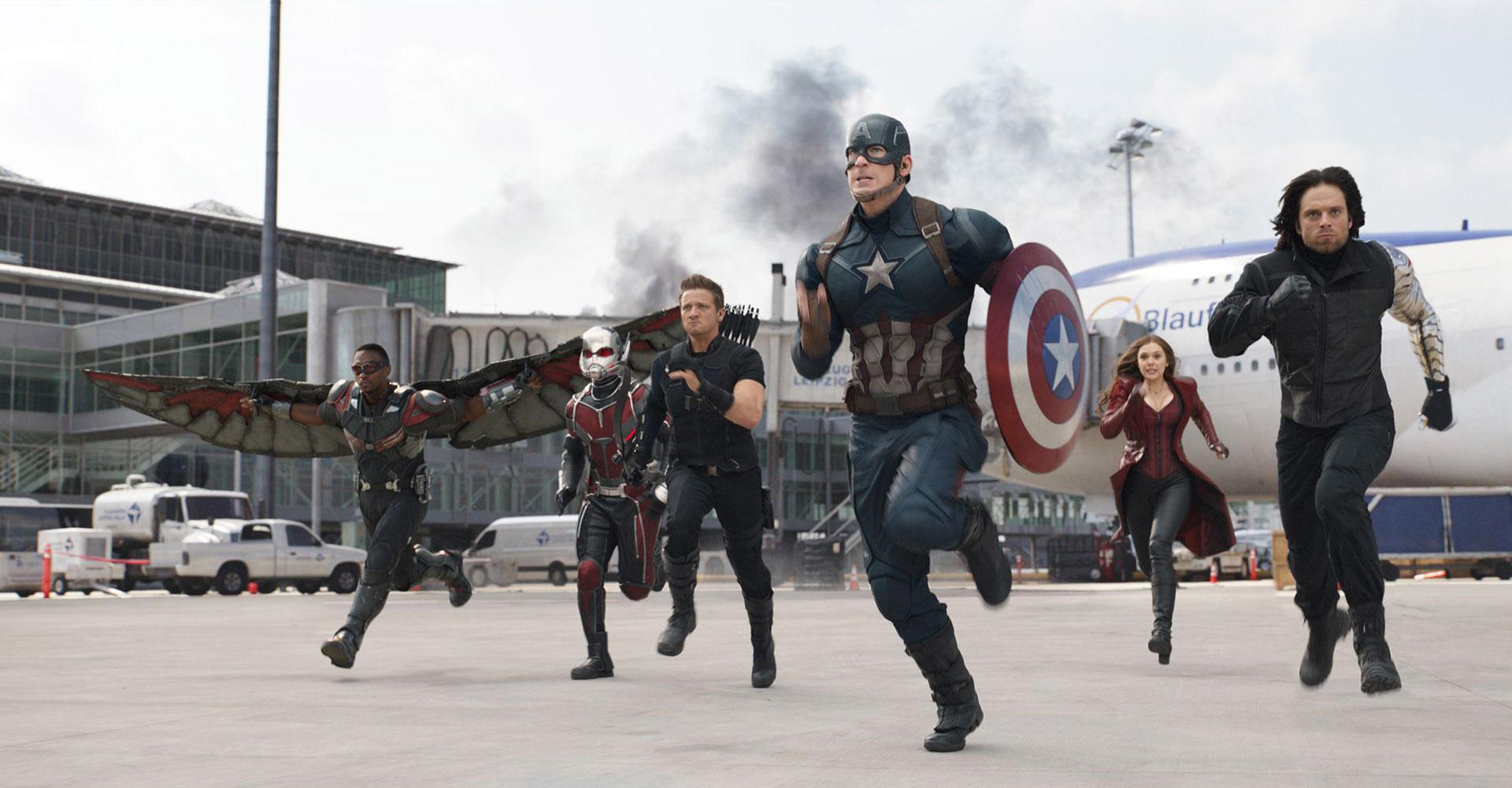 peliculas universo de marvel civil war