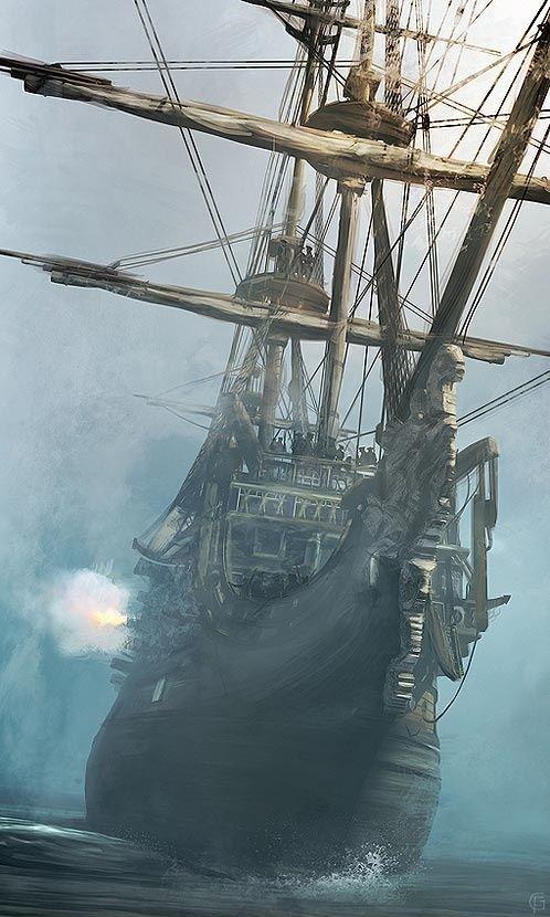 piratas en mexico barco