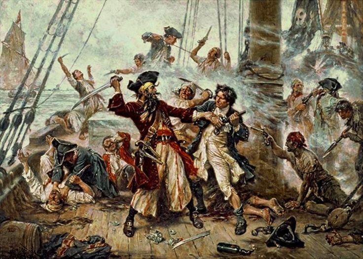 piratas en mexico