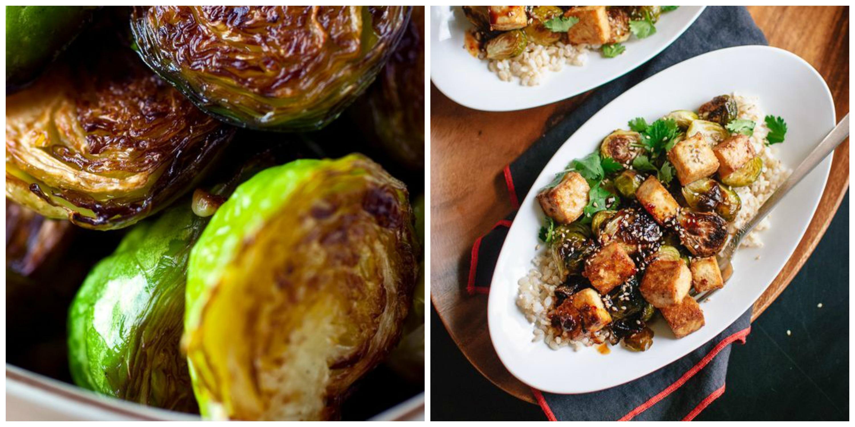 platillos sanos coles de bruselas