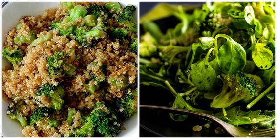 platillos sanos ensalada brocoli