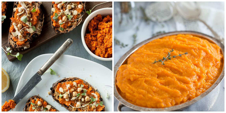 platillos sanos pure zanahoria