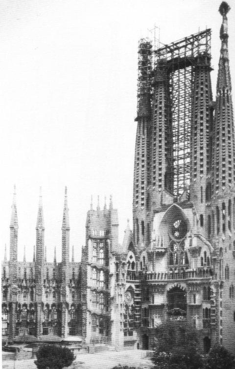 sagrada familia en 1928