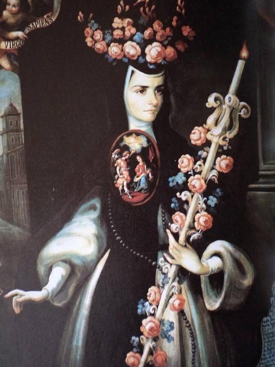 sor juana ines y maria luisa gonzaga manrique de lara flores