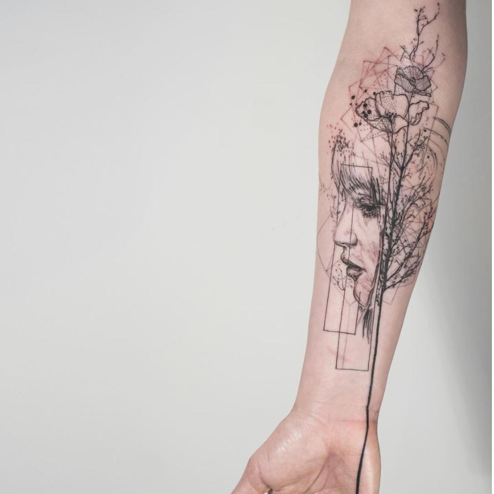 tatuajes abstractos.