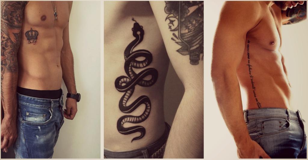 Tatuajes En Las Costillas Para Hombres Que No Siguen Estereotipos