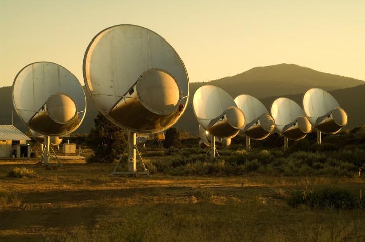 teoria extraterrestre seti antena