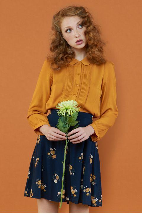 thrift shopping fashion trend skirt