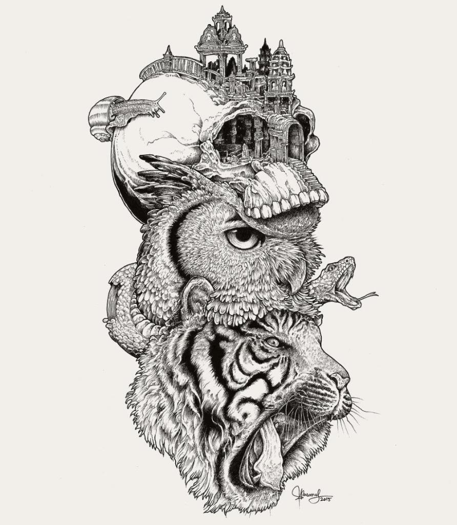 20 dise os de animales que inspirar n tu primer tatuaje