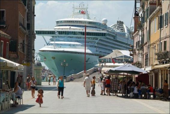 trabajos en crucero vista