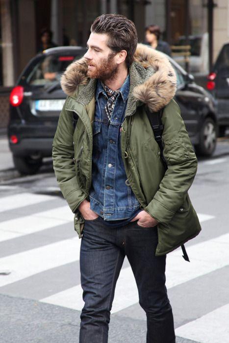 verde estilo britanico para hombre