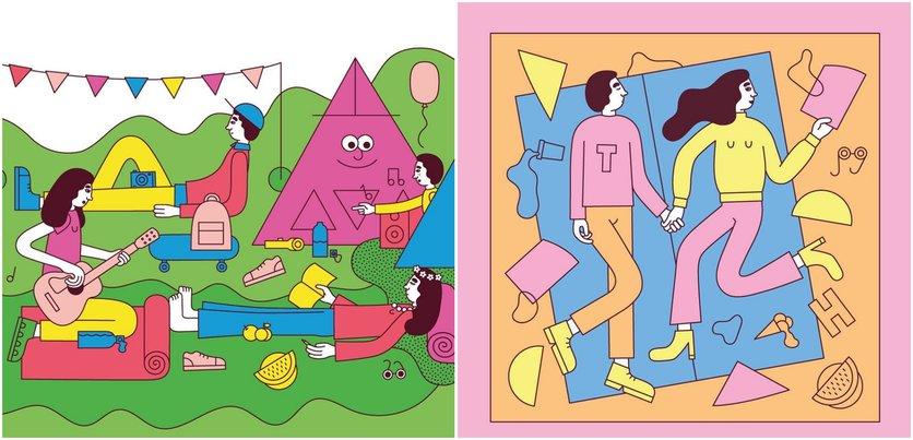 Las etapas del amor millennial en 14 ilustraciones 6