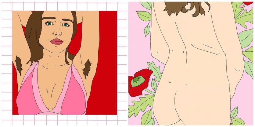 Ilustraciones que nos demuestran que ser sexy sólo es cuestión de actitud 6