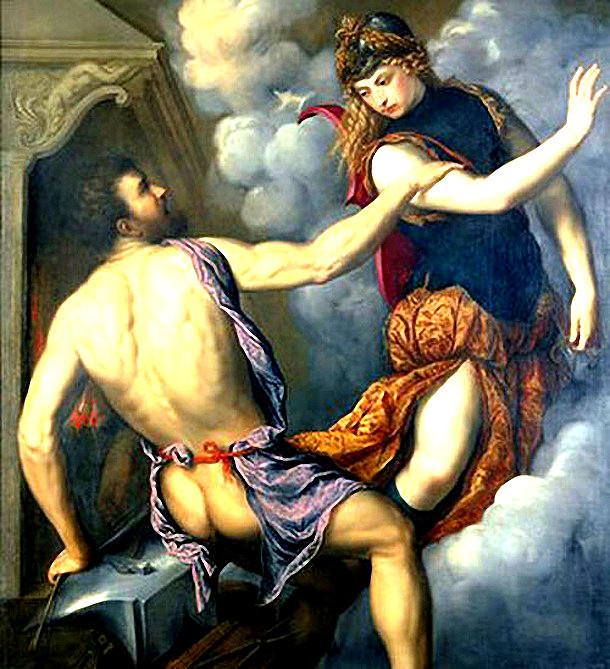 Los dioses griegos a través de 6 insólitas pinturas 1