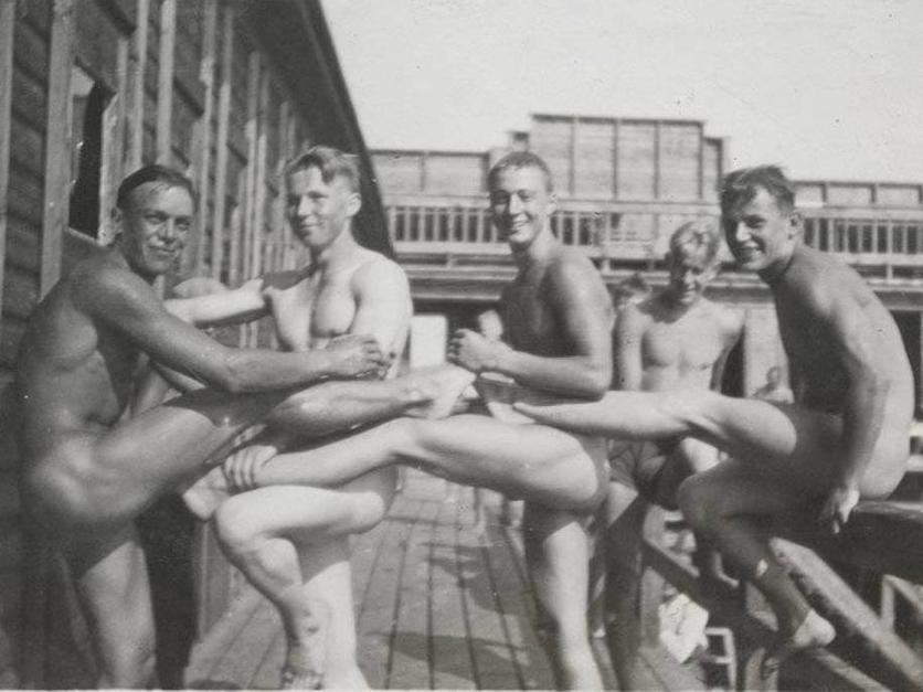 Imágenes homoeróticas de la Segunda Guerra Mundial 6