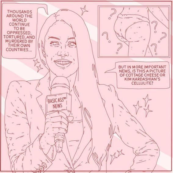 hexalot feminist illustrations 5