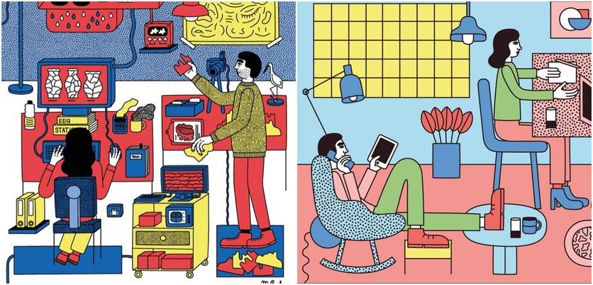 Las etapas del amor millennial en 14 ilustraciones 3