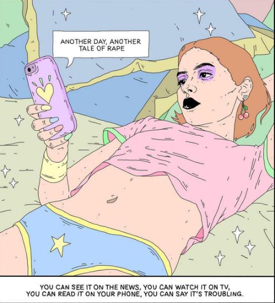 hexalot feminist illustrations 9