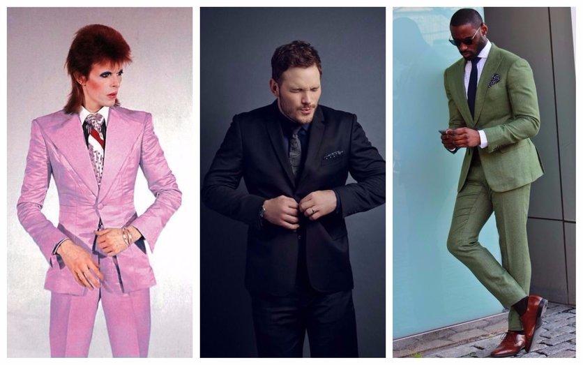 La complicación de ser hombre y querer usar un traje de color 1