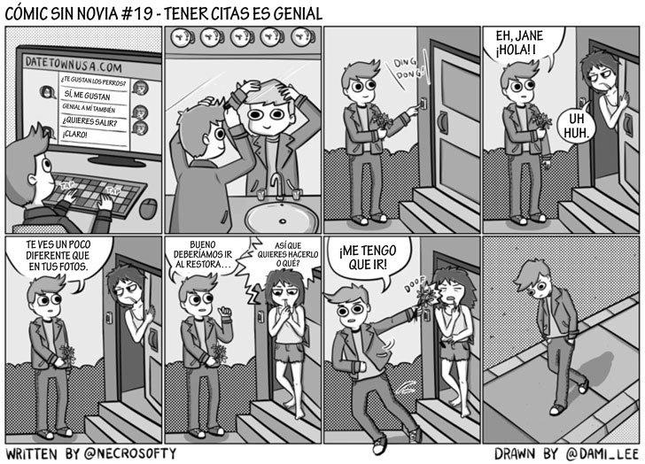 Ilustraciones que muestran lo que ellos sufren tras una ruptura amorosa 3