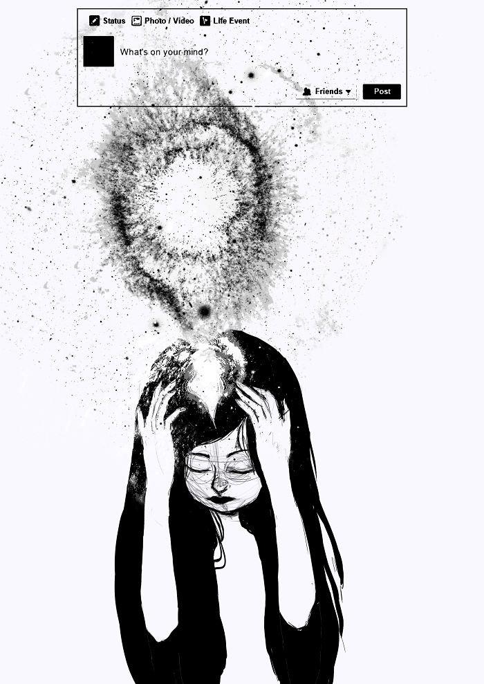 Ilustraciones para entender lo que sientes y no puedes decir 16