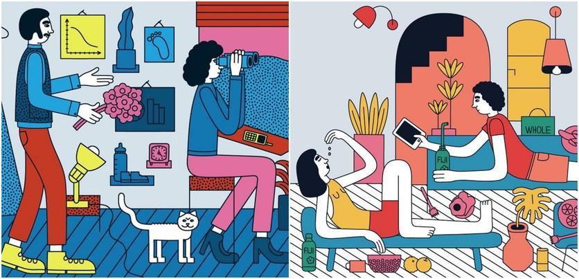 Las etapas del amor millennial en 14 ilustraciones 5