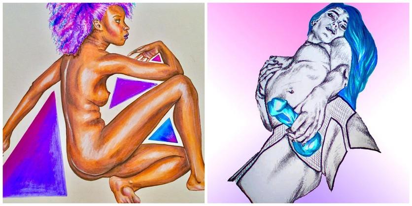 Ilustraciones sobre la magia y la lujuria de mis curvas 3