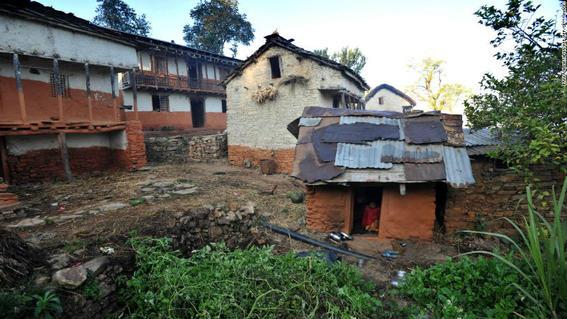 chozas de menstruacion en nepal