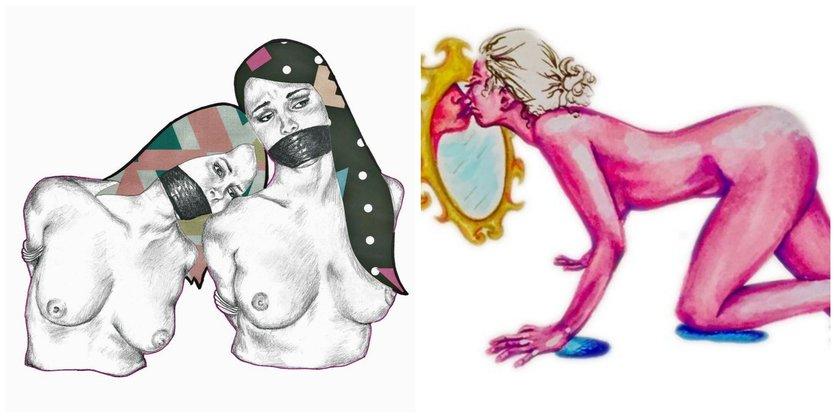 Ilustraciones sobre la magia y la lujuria de mis curvas 5
