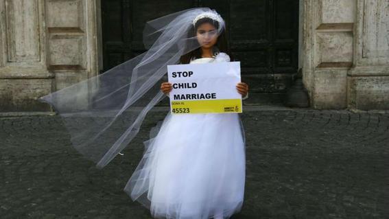 donde es mas comun el matrimonio infantil