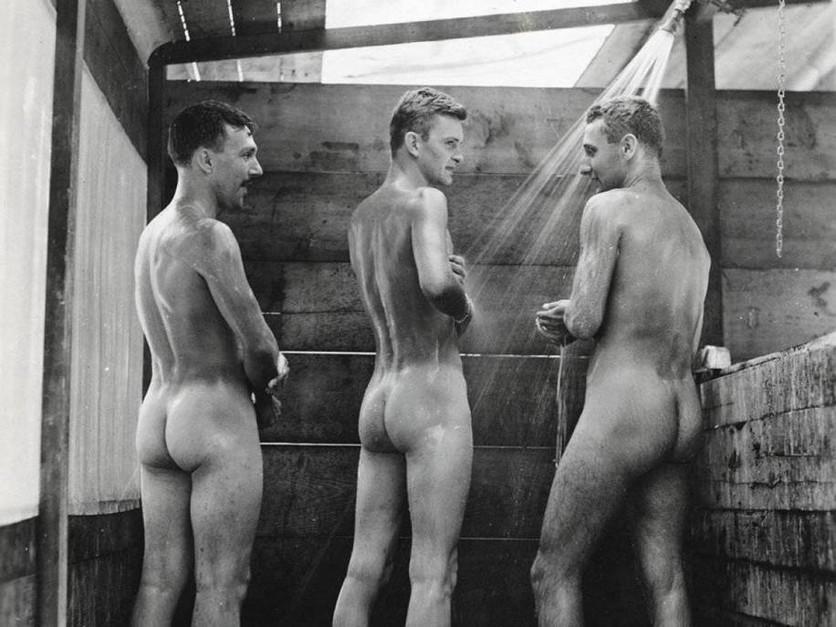 Imágenes homoeróticas de la Segunda Guerra Mundial 2