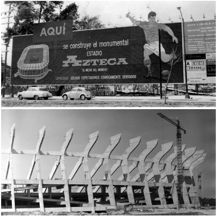 Estadio Azteca: la construcción más desastrosa y aclamada en México 2