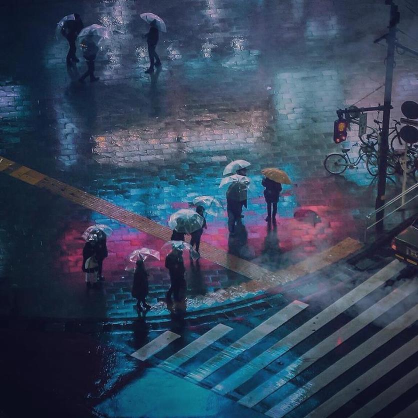 Las fotografías que te harán vivir un anime cyberpunk en Tokio 1