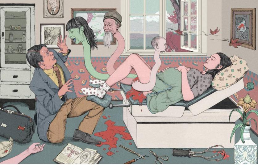 Los diferentes rostros de la perversidad y el morbo en 9 ilustraciones 1