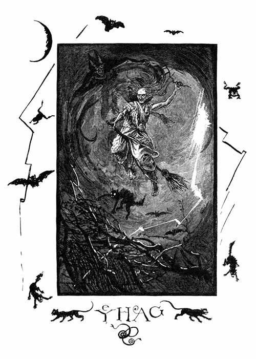 ilustraciones de brujeria y ocultismo austin abbey