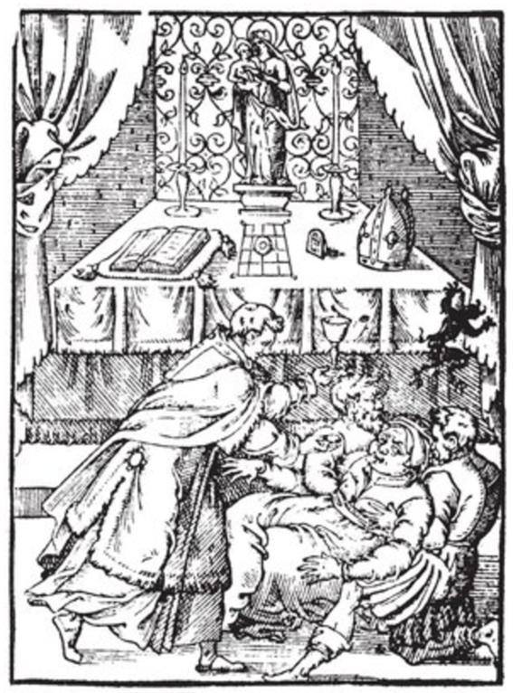 ilustraciones de brujeria y ocultismo olaus magnus