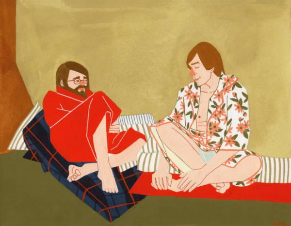 kelly bjork joyfull illustrations chilling-w600-h600