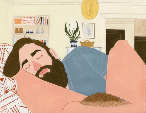 kelly bjork joyfull illustrations resting-w600-h600