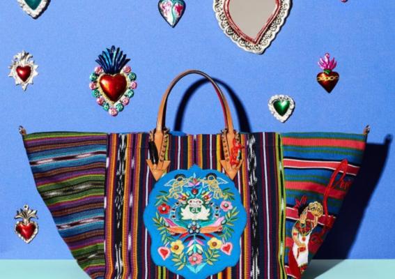 louboutin artesanas mayas bolso