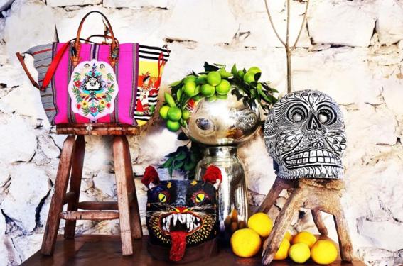 louboutin artesanas mayas objetos