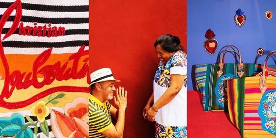 louboutin artesanas mayas trio
