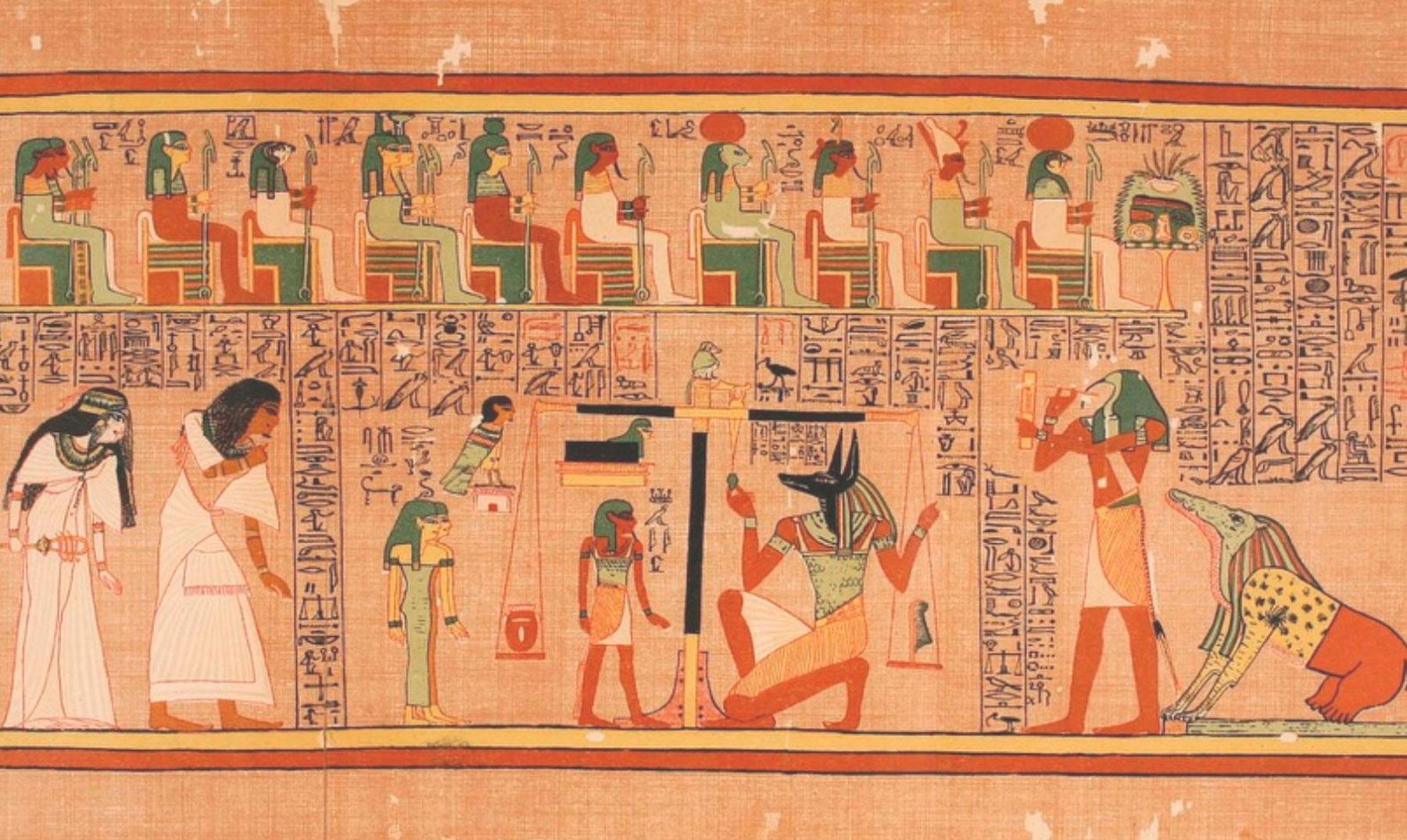papiro avances cientificos de egipto