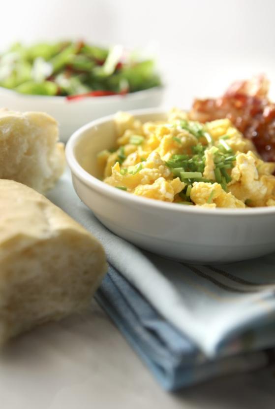 recetas en microondas huevos revueltos
